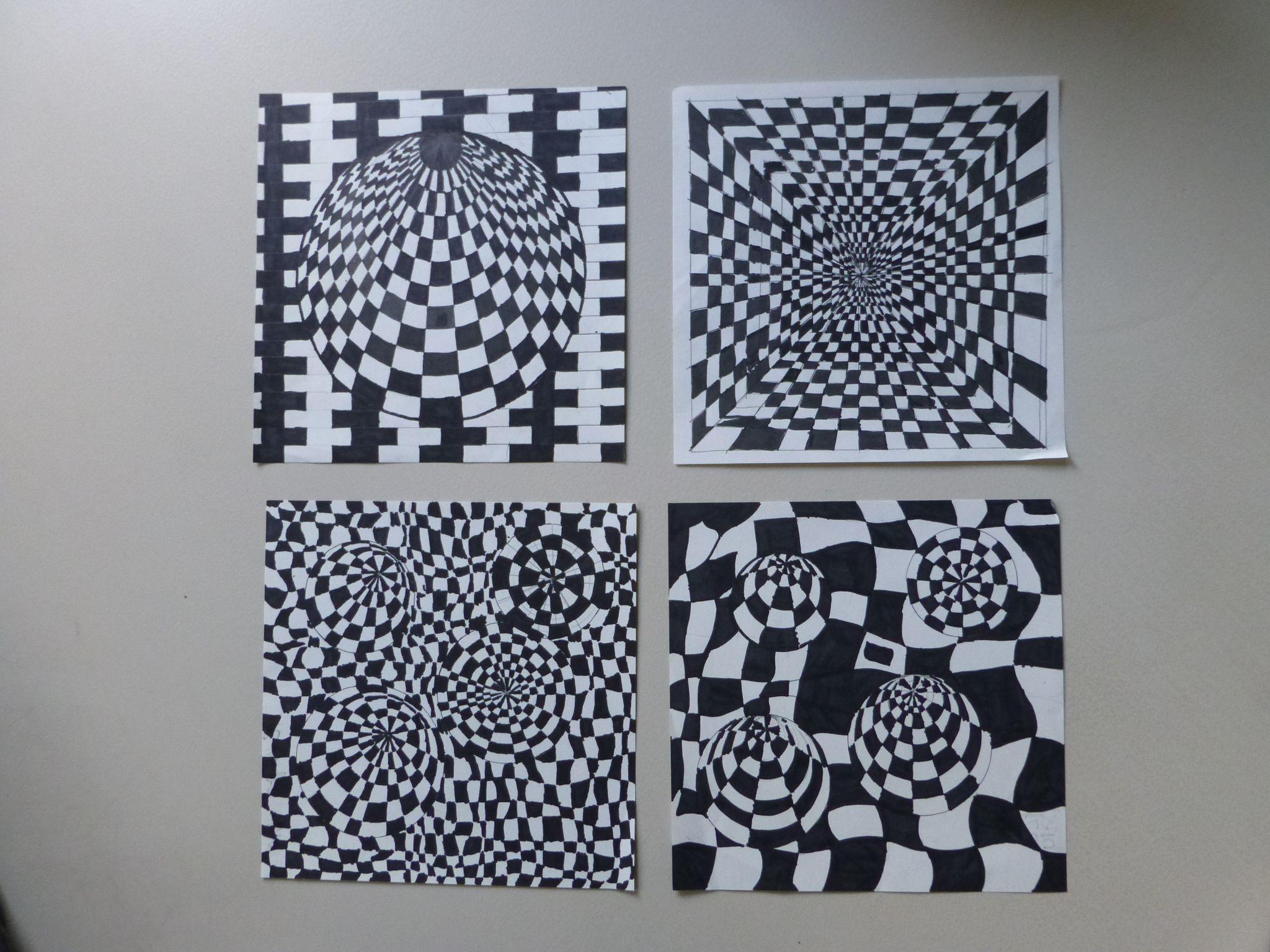1000  images about klas 2: lijn 2d: je gelooft je ogen niet! on ...