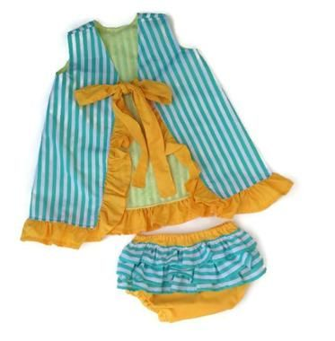Ruffle Bum & Lucy - Diaper cover & dress | шев 3 | Pinterest