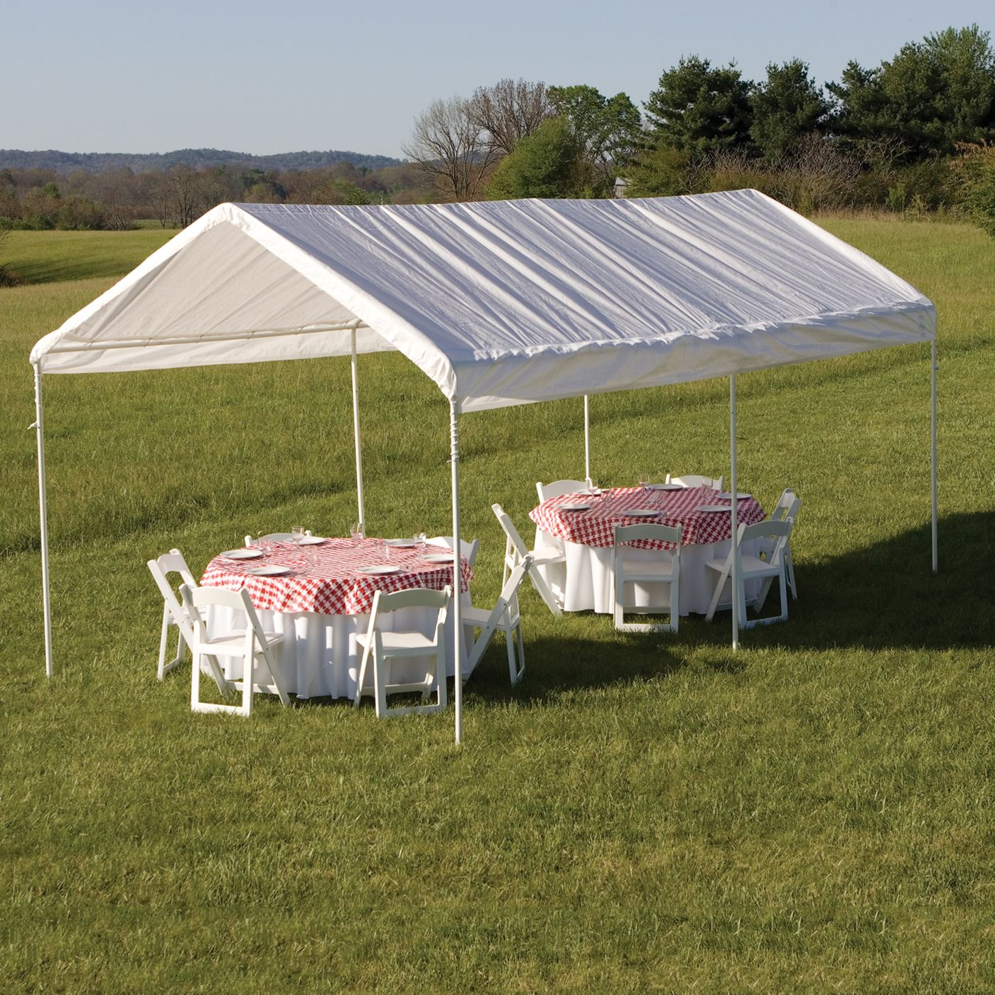 ShelterLogic Max AP™ 10ft x 20ft White 6Leg Canopy