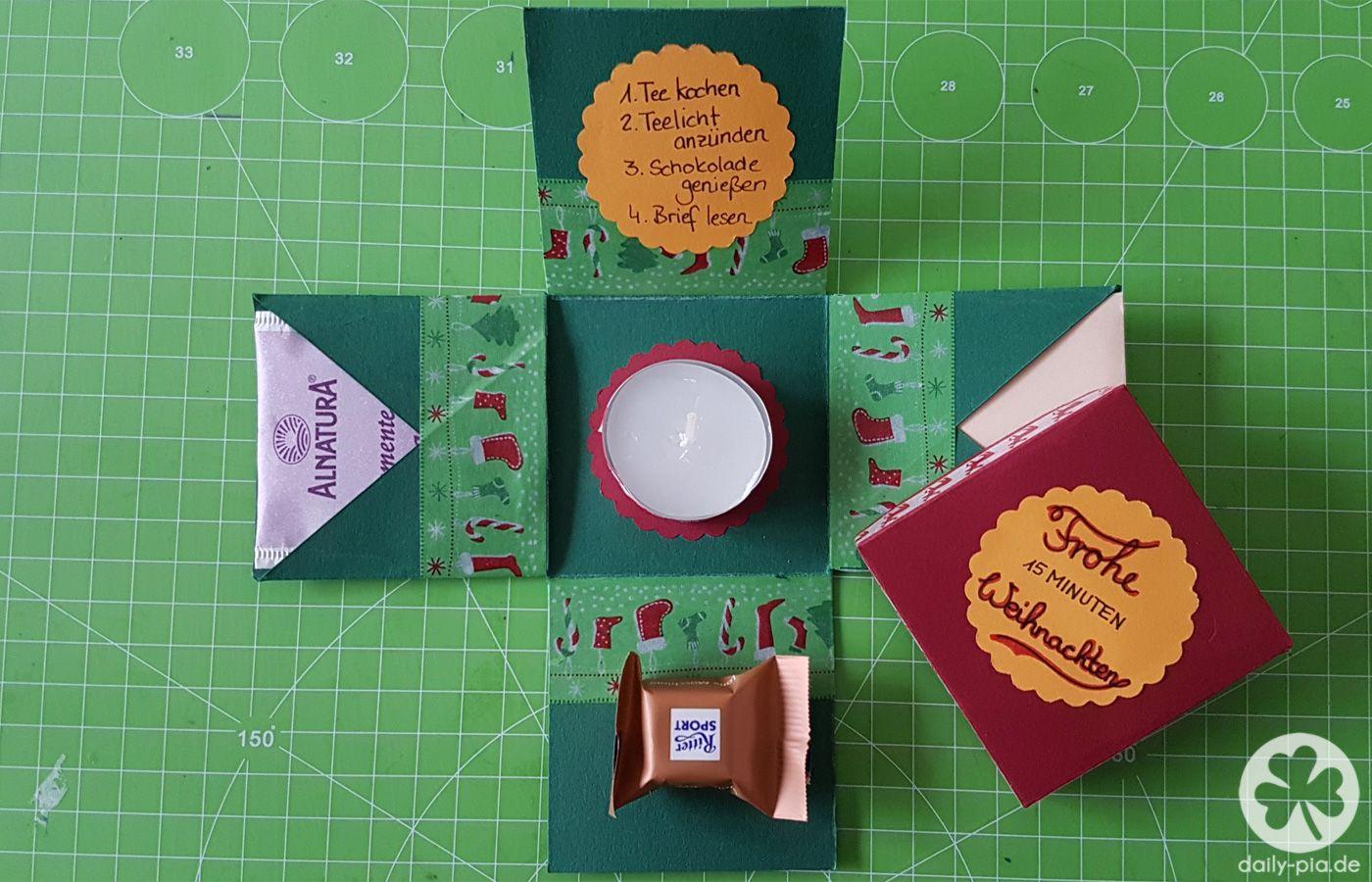 DIY: 15 Minuten Auszeit-Box | katrin | Pinterest | Geschenke ...