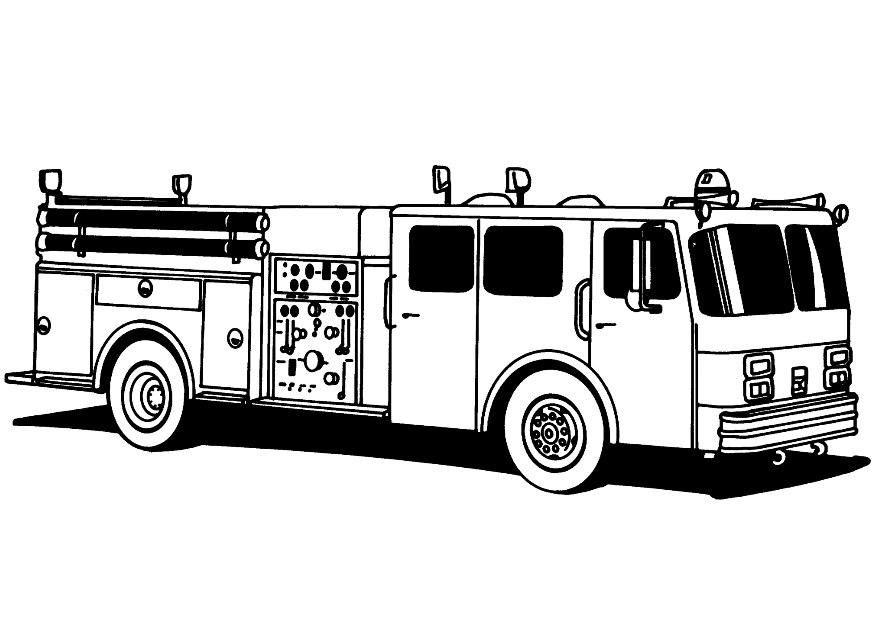 fireman coloring pages | Fireman Coloring Pages - Coloringpages1001 ...