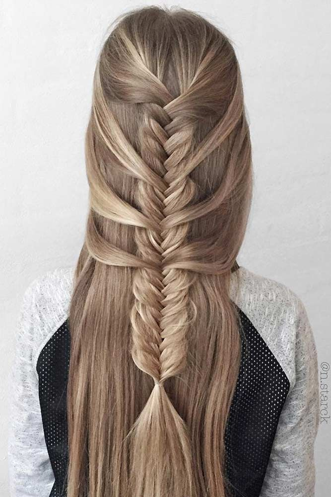Fishtail Hairstyle Pleasing You Should Never Underestimate The Power A Fishtail Braid Contains