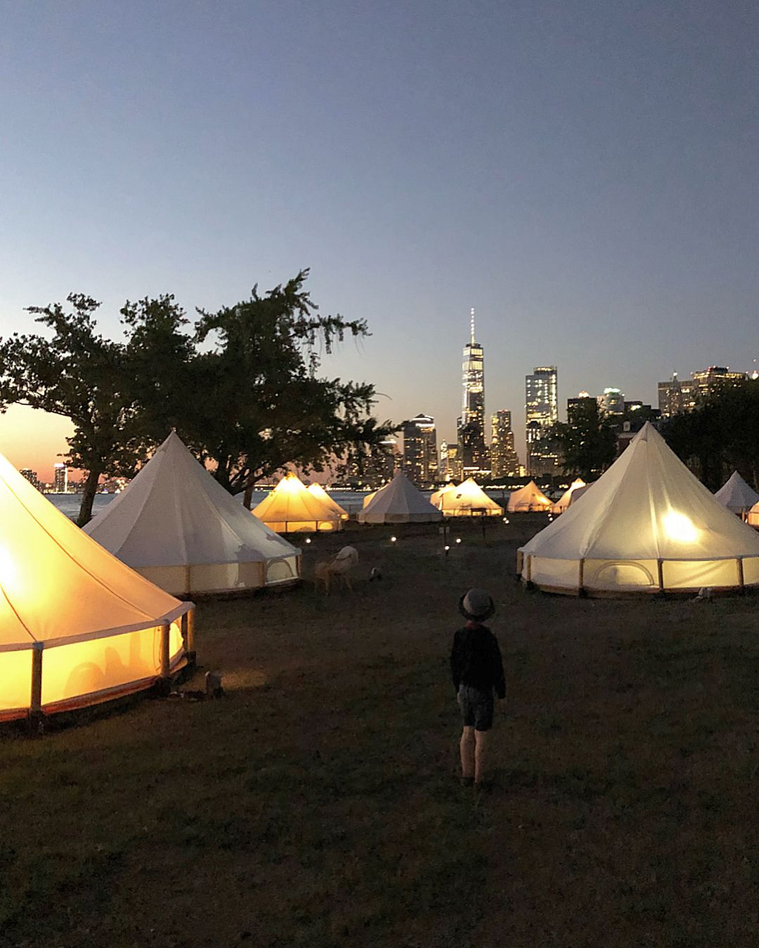 Glamping In The City Collective Retreats On Governors Island Glamping Meals For Two Healthy Meals For Two