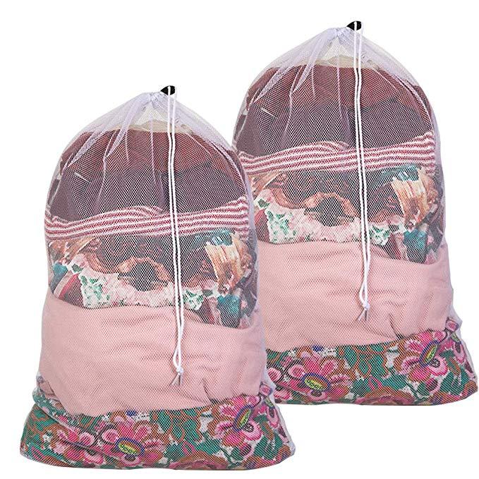 Amazon Com Wanapure Commercial Large Mesh Laundry Bag 2 Mesh