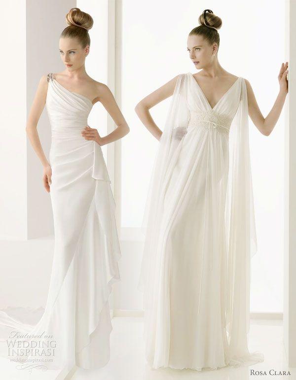 pronovias greek grecian wedding bridal gowns hochzeit. Black Bedroom Furniture Sets. Home Design Ideas
