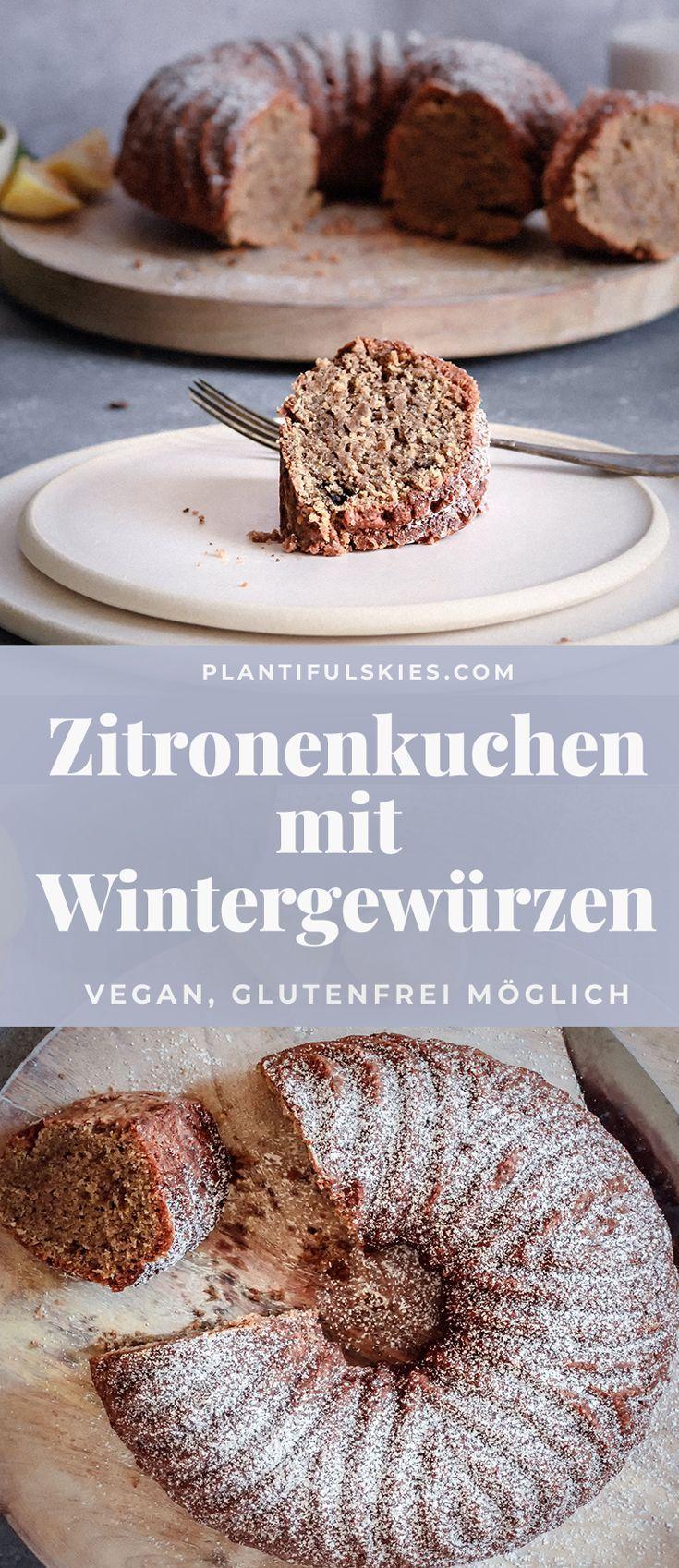 Saftig Susser Amalfi Zitronenkuchen Rezept Vegan Desserts