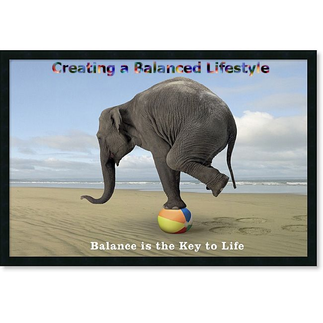 when you have the right balance, you would be surprised what you can achieve.