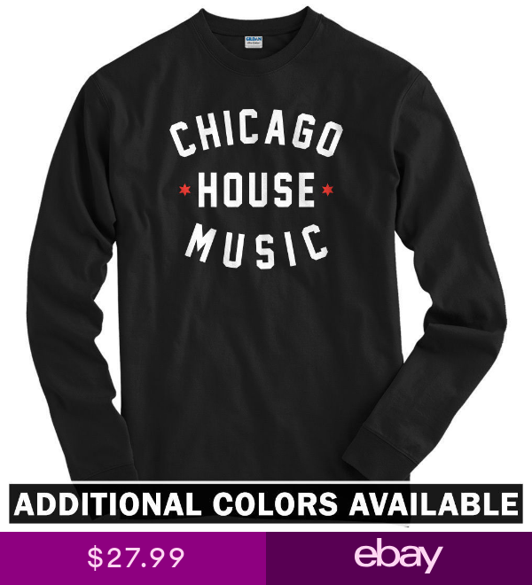 T Shirts Ebay Clothing Shoes Accessories Chicago House House Music T Shirt