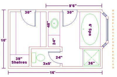 Master Bath Floor Plans Dimensions Google Search