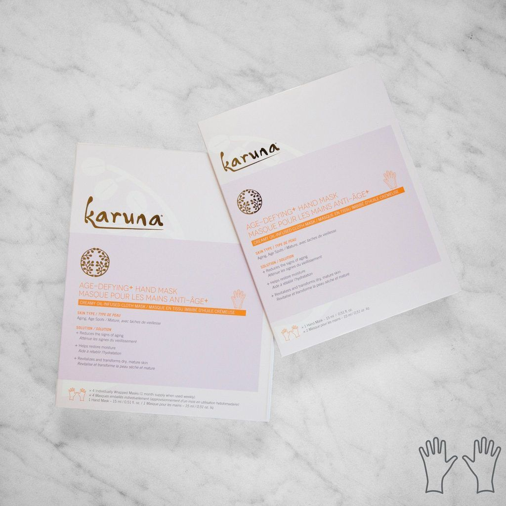 Reduce the signs of aging and restore moisture with Karuna
