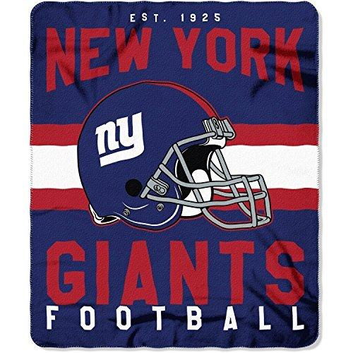 NFL Giants Throw Blanket 40 X 40 Football Themed Bedding Team Logo Beauteous Team Throw Blankets