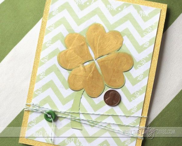 Lucky You - Homemade Lotto Cards for St Patrick's Day.    #thedatingdivas
