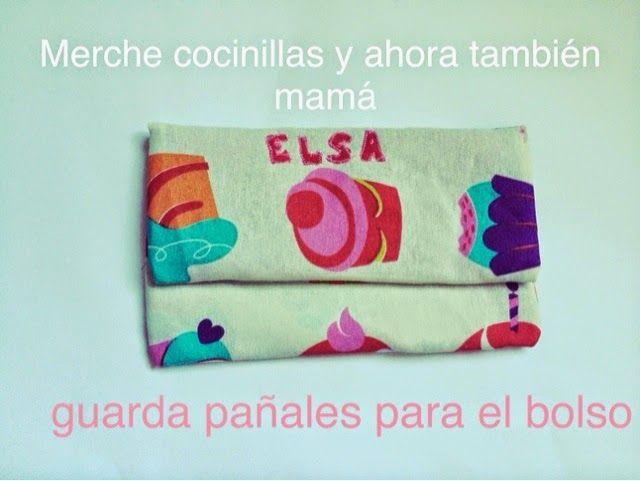 Merche cocinillas y ahora también mamá: Tutorial Guarda pañales o pañalera para el bolso. DIY