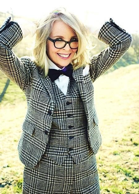 Here's what skin cancer survivor Diane Keaton had to say about the sunscreen she keeps in her pocket, how she picks her clothes and her secret beauty weapon.