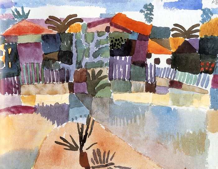 Paul Klee St Germain ,Tunis 1914 - Graphic design - colors - colours - couleurs - palette - illustration - graphisme - art - visual - graphic - visuel - minimalist - minimaliste - layout - editorial - applied arts - packaging - pack / #graphicdesign #art #illustration #graphisme #graphic #illustration #minimalist #palette #colorpalette #colors #colours #nuancier #layout #editorial #packaging