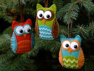 ricamo e il pensiero: Stampi Owls