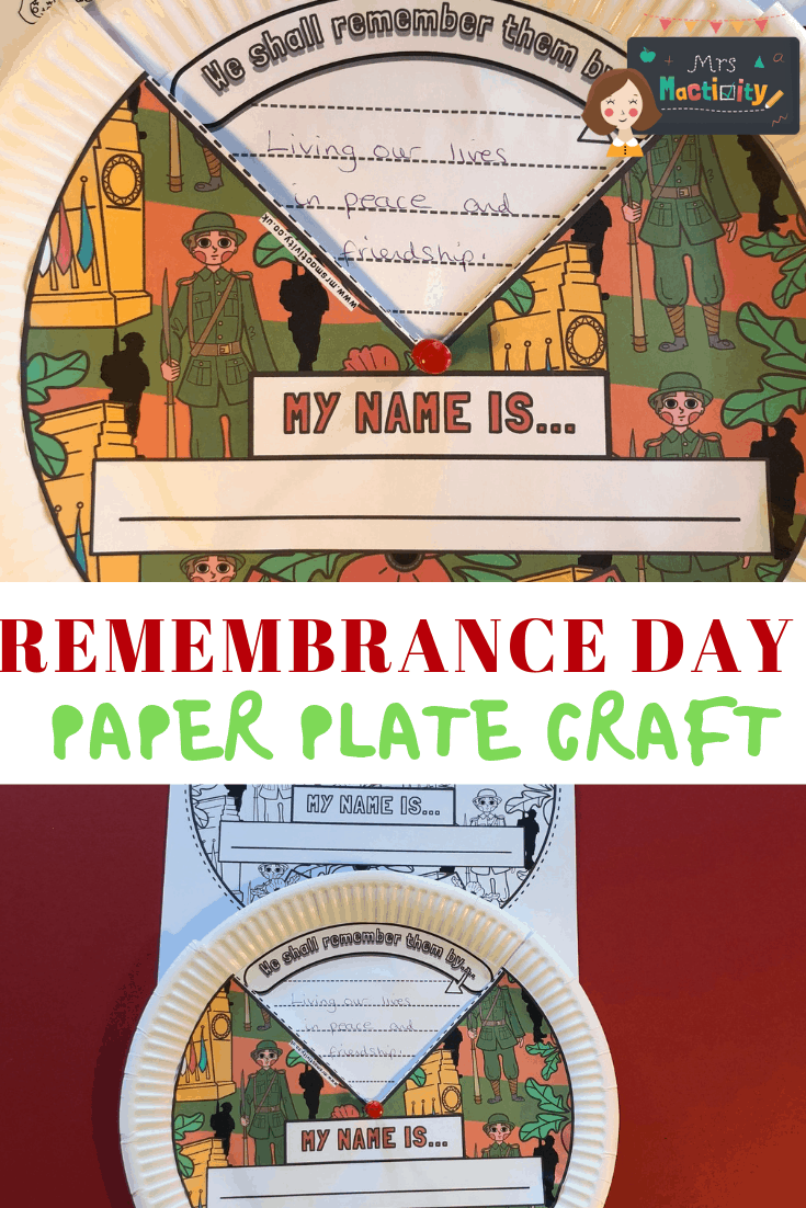 Remembrance Day Crafts and Activity Ideas | Mrs Mactivity