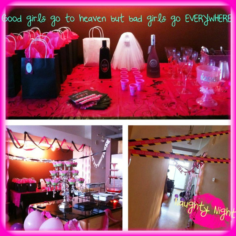 Naughty Night Themed Bachelorette Party Bachelorette Party Themes Bachelorette Party Bachelorette