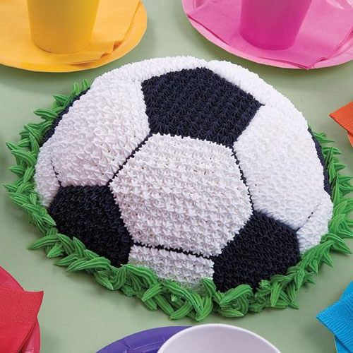 Wilton Soccer Ball Pan Soccer Ball Cake Soccer Cake Cake