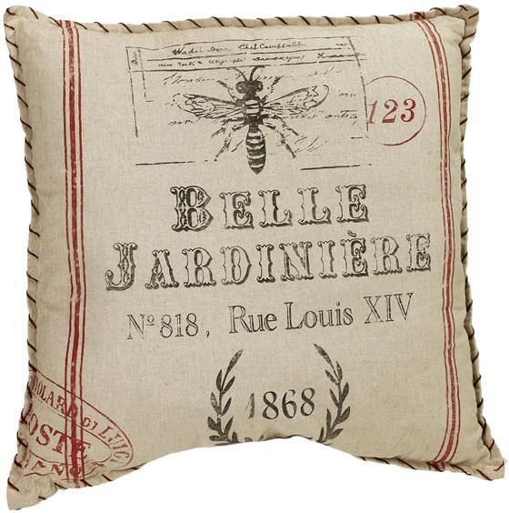 Belle Jardiniere Pillow Decorative Pillows Home Accents Home Cool French Pillows Home Decor