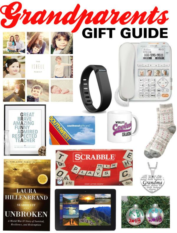 A great collection of gifts for grandparents including some fun ideas you probably never thought of! #bestgiftsforgrandparents