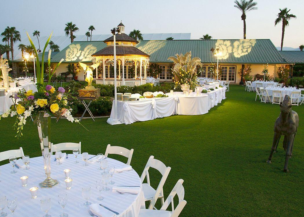the pavilion building and gazebo in the rose garden at empire polo club - Empire Garden