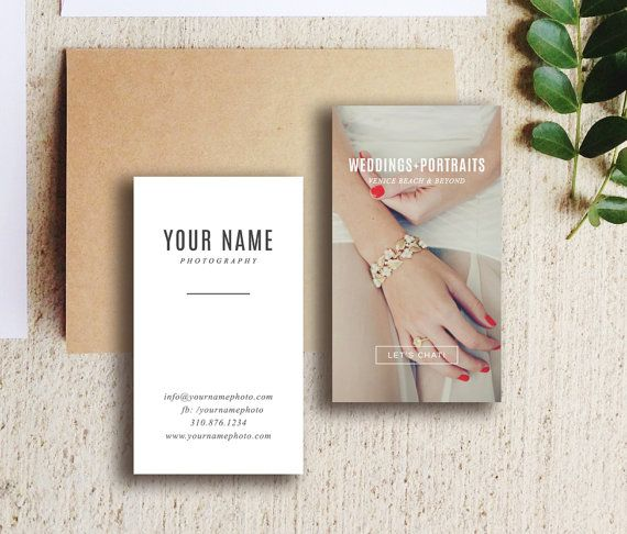 Wedding photography business card template digital photoshop wedding photography business card template digital photoshop templates vertical business card design m0150 accmission Gallery