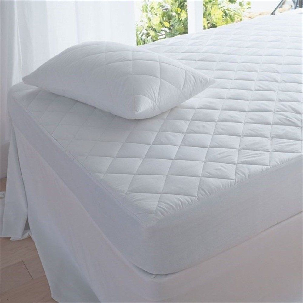 Waterproof Mattress Cover Protector Queen Size Bed Cover Sheet Hypoallergenic Super King Size Bed Queen Size Bed Covers Bed
