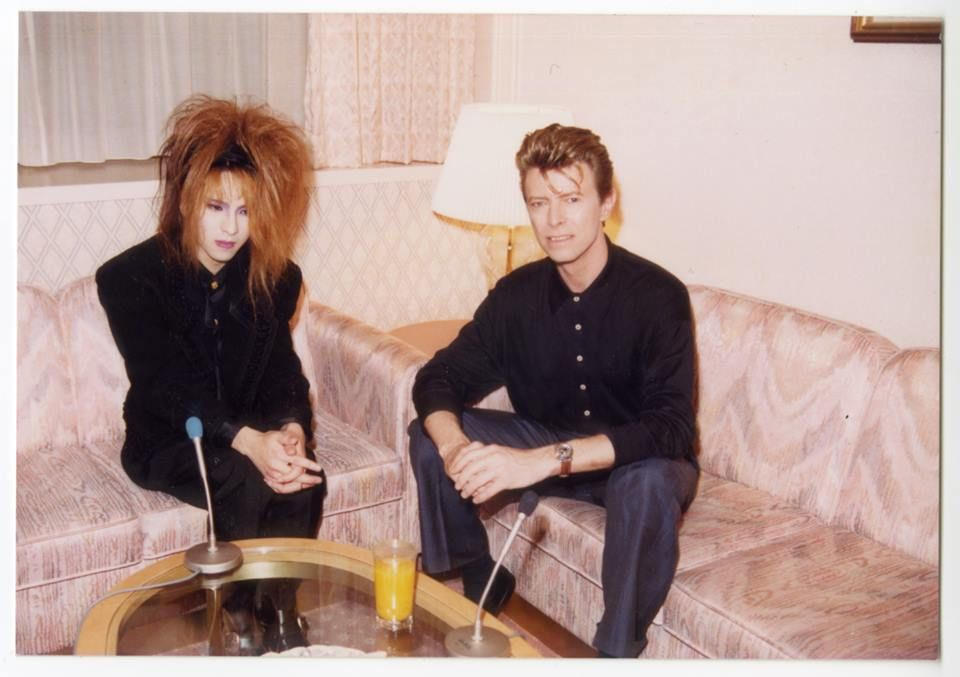 Yoshiki From X Japan Band And David Bowie Bowie David Bowie Twitter