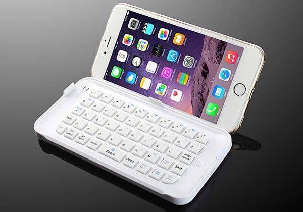 iPhone! The Ultra-Thin Mini Bluetooth Keyboard for iPhone 6 Plus Cool iPhone stuff