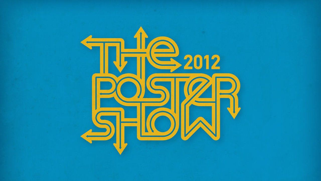 The Poster Show 2012 Logo // Process Video