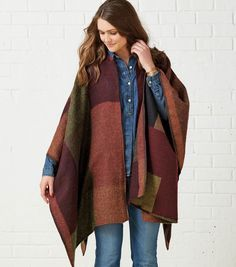 Simple Poncho, sewing pattern