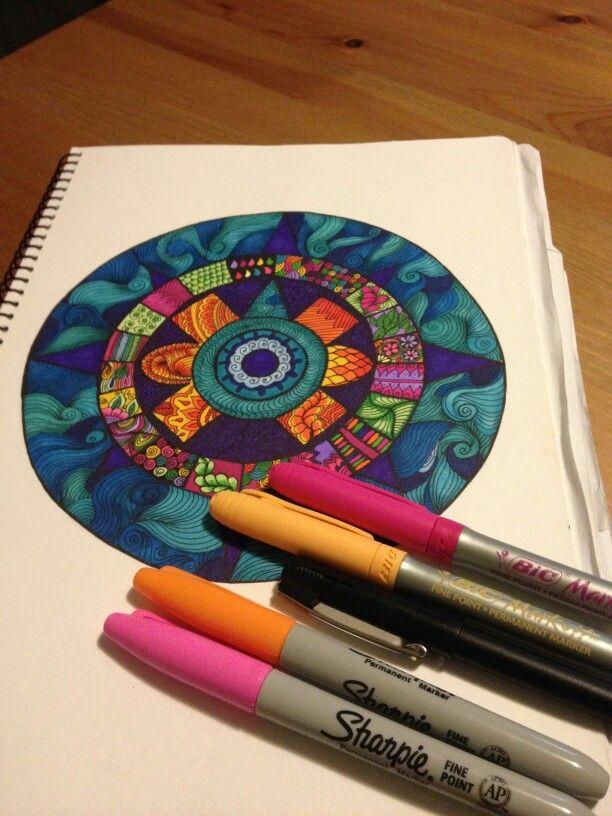 Mi version del calendario azteca a colores | cynthiacabello.com.au ...