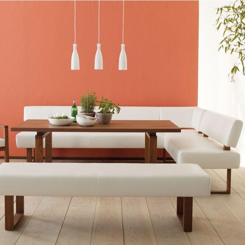 koinor bellagio corner dinner sofa bench contemporary