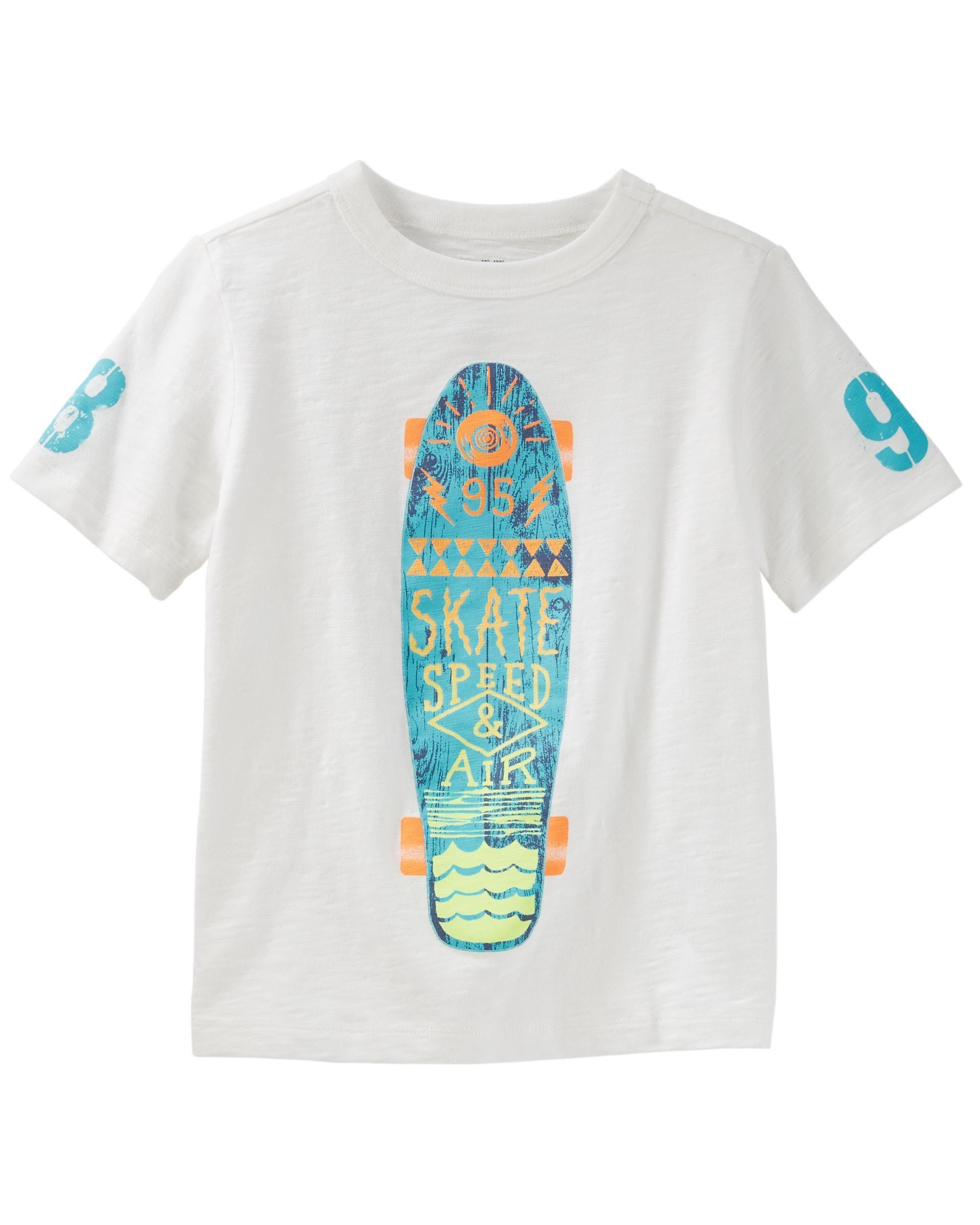 fa3023c766 Skateboard Tee | KIDSWEAR | Boys, Boys summer outfits, Kids boys