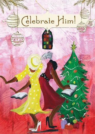 Celebrate Him Box Set Vintage Christmas Cards Holiday Greetings Christmas Cards