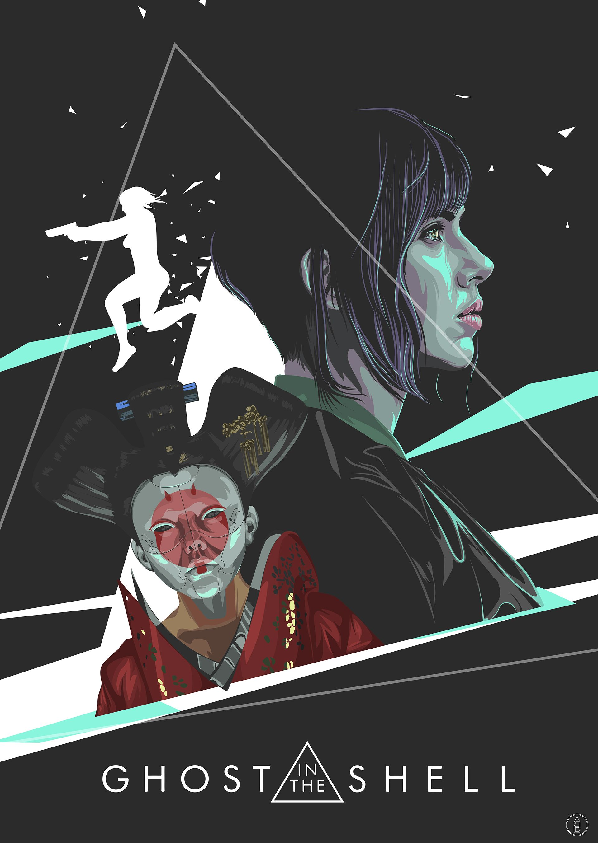 Ghost In The Shell Art Tribute Art Ghost