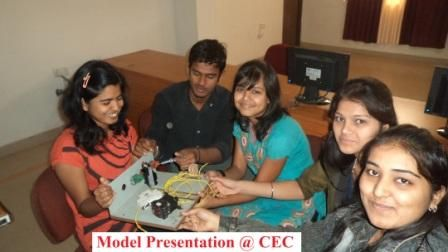 Model Presentation By CEC Students