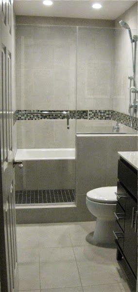 Bath Tub in Shower / Wet Room Bathroom Remodel | Cuartos ... on Wet Room With Freestanding Tub  id=61030