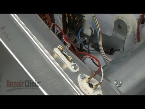 Dryer Thermal Fuse Replacement Duet He3 Dryer Repair Part 3392519 Youtube Dryer Dryer Repair Thermal