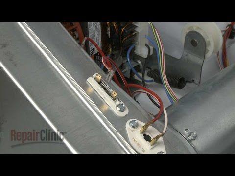 Dryer Thermal Fuse Replacement Duet He3 Dryer Repair Part