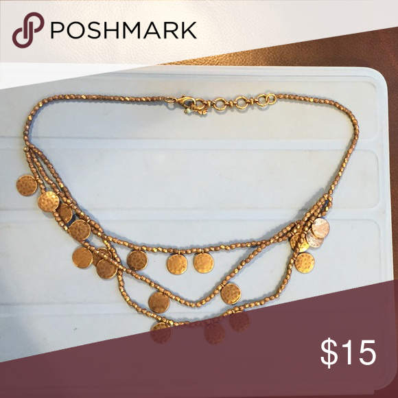 Lucky brand necklace Bronze Lucky Brand necklace Lucky Brand Jewelry Necklaces