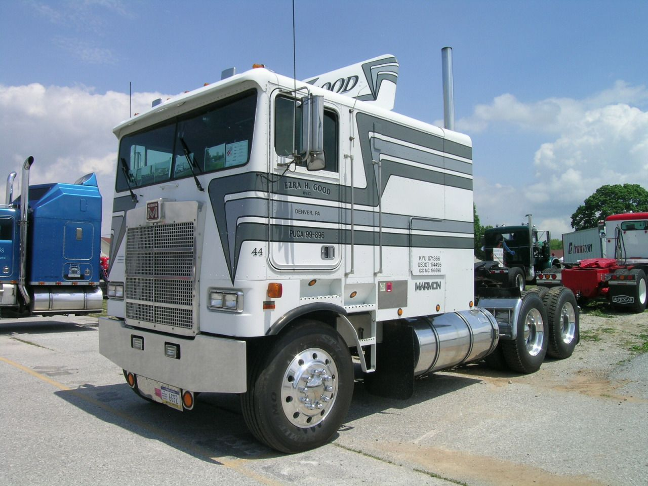 coe Marmon classic hand built in Texas | big rig | Pinterest ...