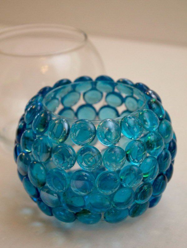Creative Glass Bead Vase This Craft Is Quick Easy And Cheap To