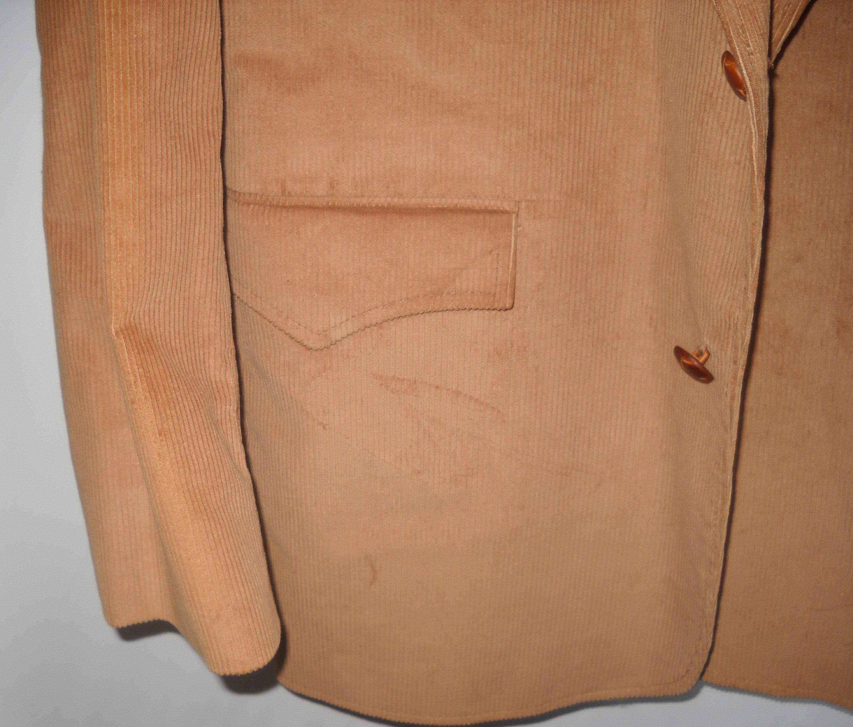 44R Pioneer Wear western cowboy cotton blend corduroy tan