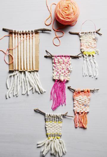 7 Easy, No-Knit Yarn Crafts #craft