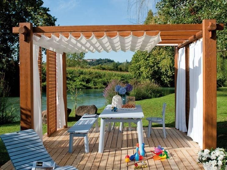 Tende Pergolato Prezzi : Porte and finestre gazebo in legno prezzi porte and finestre il