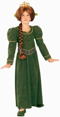 Fiona Deluxe Shrek Child Costume Small Clothes Size 46 ** Continue to the product at the image link.  sc 1 st  Pinterest & Fiona Deluxe Shrek Child Costume Small Clothes Size 46 ** Continue ...