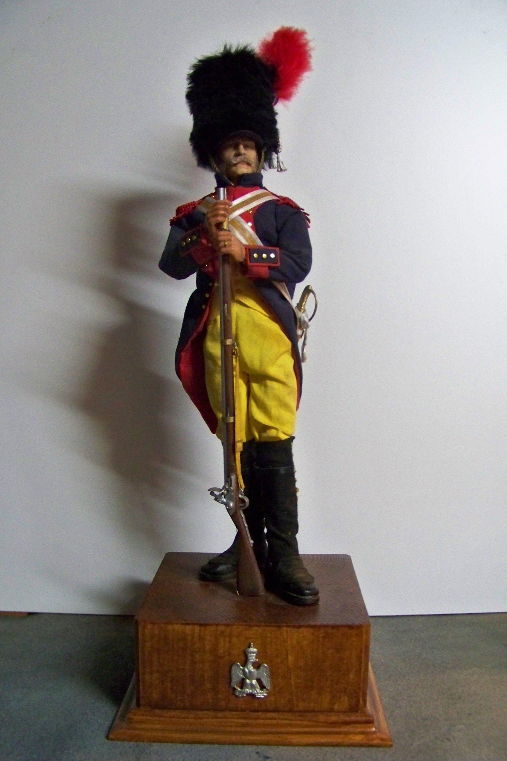 Gendarme di élite della guardia imperiale francese