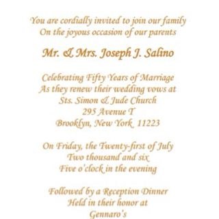 You Are Cordially Invited Mr And Mrs As They Renew Their Wedding Vows February 50th Anniversary Invitations Wedding Renewal Vows 50th Anniversary Party